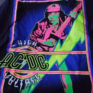 ACDC GLOW IN DARK TSHIRT
